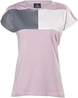 casa Lavoro Givova Palestra Tempo Libero T-Shirt a Manica Corta Rossa da Donna #Hashtag in Tessuto Jersey con Stampa Frontale Givova