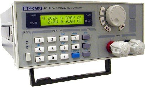 Tekpower TP3711A Programmable DC Electronic Load, 300 Watts with Part To Mount to a Rack