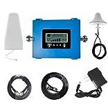Amplificatore del Segnale 4G LTE 800 Band20 / 1800 Band3 / 2100 B1 / 2600 Band7 ripetitore del Segnale di frequenza Mobile Antenna Kit Venditore Professionale ripetitore Mobile,B20/800mhz