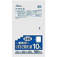 くずかご用ポリ袋10L セイケツネットワーク SK-12 半透明 100枚入X10パック