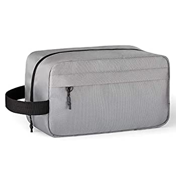 Vorspack Toiletry Bag Hanging Dopp Kit for Men Water Resistant Shaving Bag with Large Capacity for Travel - Grey