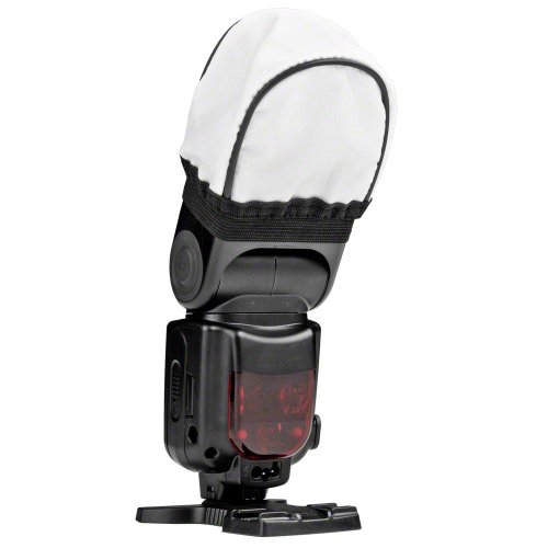 Walimex 17580 - Difusor Universal de Tela para Flashes compactos, Blanco