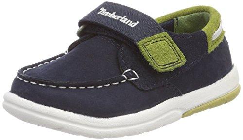 Timberland Unisex Baby Toddle Tracks Slipper, Blau (Navy Naturebuck 410), 23 EU