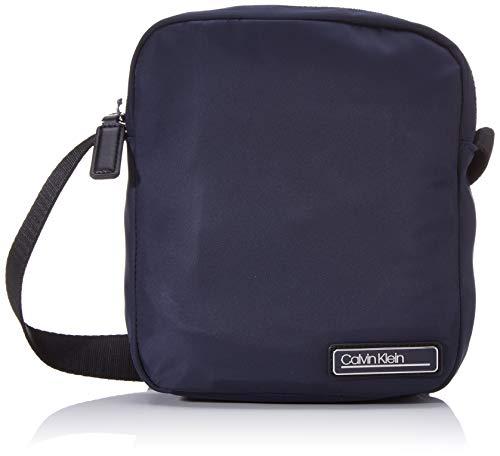 Calvin Klein Primary Mini Reporter - Borse a spalla Uomo, Blu (Blackwhite Navy), 1x1x1 cm (W x H L)