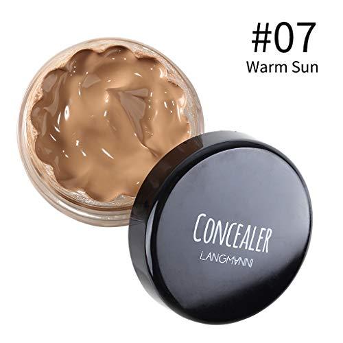 Routinfly Professional Makeup Contour Concealer,Concealer feuchtigkeitsspendende aufhellende lang anhaltende nicht geschminkte Grundlage