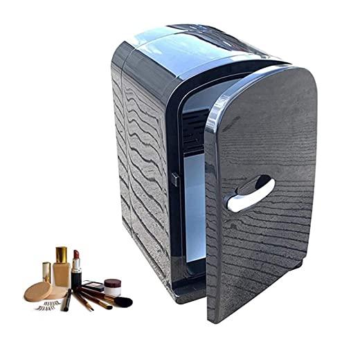 Nevera Portátil,Nevera Termoeléctrica Belleza pequeña refrigeradora / refrigerador de coches de cosmética portátil, for maquillaje y cuidado de la piel ,AC/DC Refrigerador pequeño 8L Cooler Compact