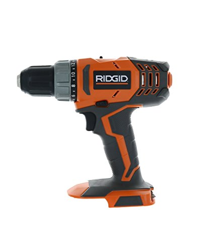RIDGID R860052 18-Volt Lithium-Ion 1/2 in. Cordless Compact Drill/Driver (Bare Tool Only - Battery and Charger Not Included) (Renewed)