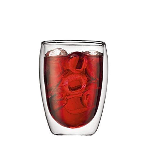 ボダム ダブルウォールグラス パヴィーナ グラス セット 4559-10US クリア