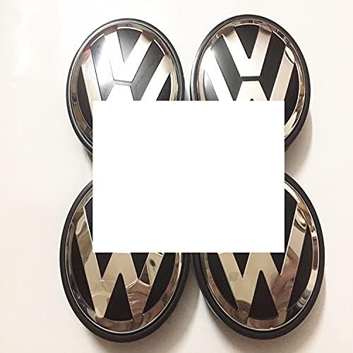 Adecuado Para Volkswagen Sagitar Magotan Golf Tiguan Lingyu Passat Cubierta De Cubo De Rueda Cubierta Central Del Logotipo Del NeumáTico 65 Mm