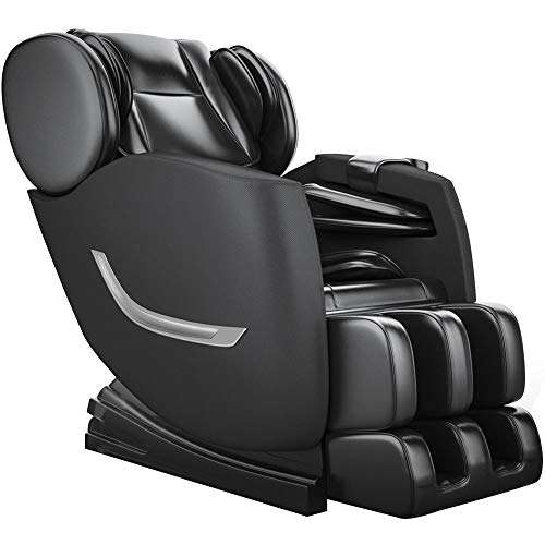 Review Full Body Electric Zero Gravity Shiatsu Massage Chair with Bluetooth Heating and Foot Roller ...