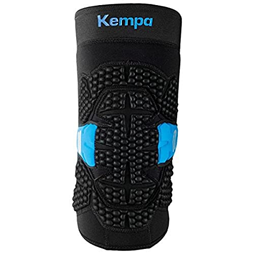 Kempa Kguard Ellbogenprotektor Ellbogenschoner, schwarz, XL/XXL
