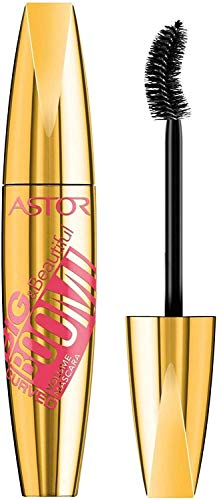 Astor Big & Beautifull Boom! Curved Mascara, 910 Ultra Black (schwarz), Volumen und Schwung, 1er Pack (1 x 12 ml)