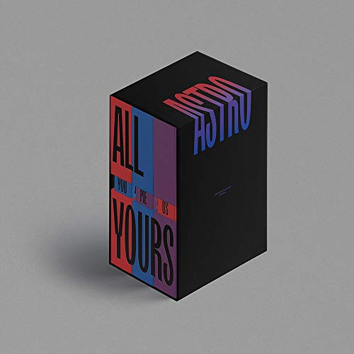 Fantagio Music Astro - all Yours (You+Me+US Ver. Set) [Limited Sleeve Case Set Ver.] 3 Album+3 Folded Posters+Extra Photocards Set
