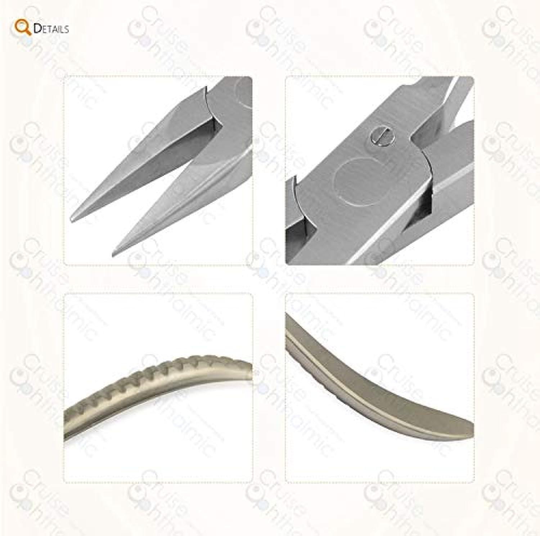 Eyeglasses Plier Flat Semicircular Snipe Nose Plier