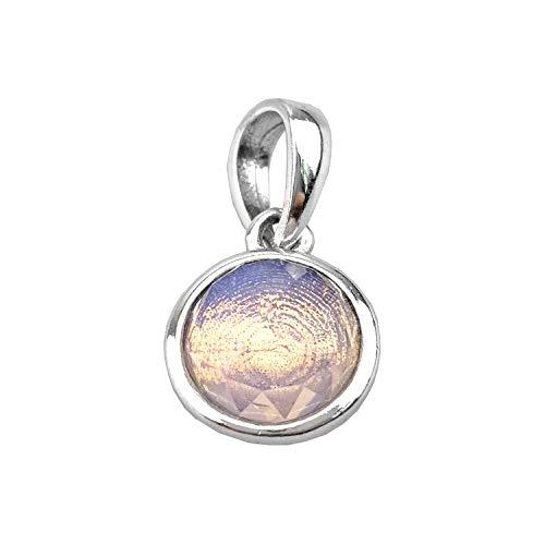 Charm voor dames van 925 zilver, creatief design, psychedelisch, bezet met zirkonia, kristallen armband, parelketting voor dames, meisjes, moeder, dochter, verjaardagscadeau