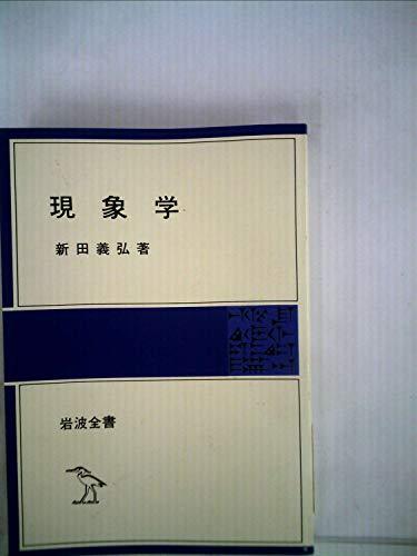 現象学 (1978年) (岩波全書〈302〉)