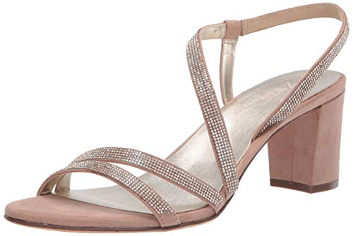 Naturalizer Women's Vanessa2 Strappies Sandal, Barely Nude, 10.5