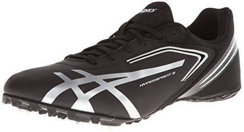 ASICS Men's Hypersprint 5 Running Shoe,White/Black/Blue,11.5...