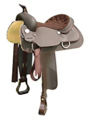 Cheyenne roll styled in a square skirt, double fender format Quick Change Buckles Weatherproof - can be ridden in all weather conditions Equileather Fenders are extremely hard wearing Equisuede seat provides super comfort and the perfect level of gri...