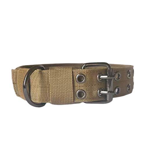 Pipulu Cuello Táctico para Perros Cuello de Entrenamiento Militar Ajustable con Cinco Velocidades para El Entrenamiento de Perros