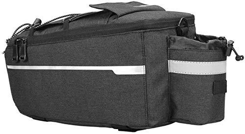 Cuadro de la bicicleta bolsa bolso de la bicicleta aislado Paquete de ciclo posterior de la bicicleta rack de almacenamiento de equipaje bolsa reflectante MTB Bolso al aire libre for Pannier MTB