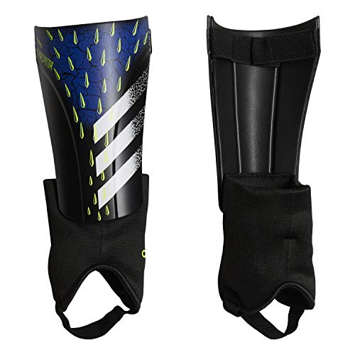 adidas Schienbeinschoner Predator Match Shin Guards Black/White/Solar Yellow XS