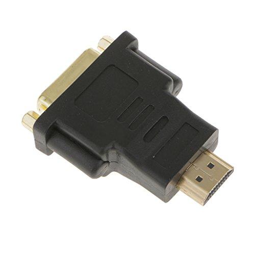 Sharplace DVI-I DVI-D HDMI hembra adaptador macho a DVI Proyector de vídeo PS3