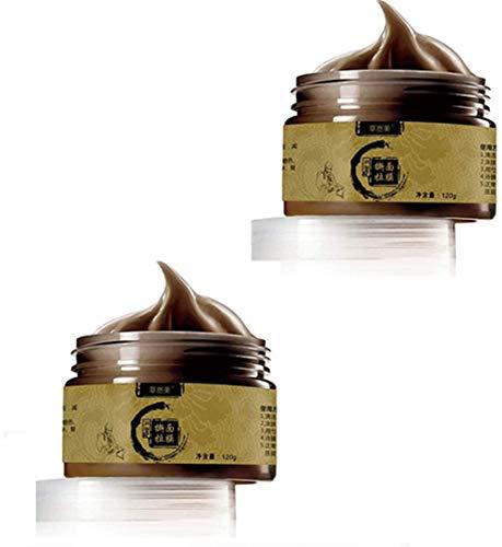 DBTOOTHBRUSH Removedor de Limpieza Facial desprendible a Base de Hierbas, removedor de espinillas de Limpieza Mascarilla Limpia de Piel Profunda, minimizador de poros de Tratamiento Facial (2pcs)