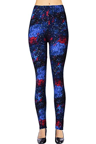 VIV Collection Regular Size Printed Leggings (Foreign Galaxy)