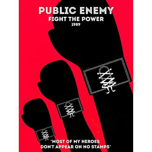 Wee Blue Coo Music Public Enemy Old School Rapper Rap Hip Hop USA Unframed Wall Art Print Poster Home Decor Premium
