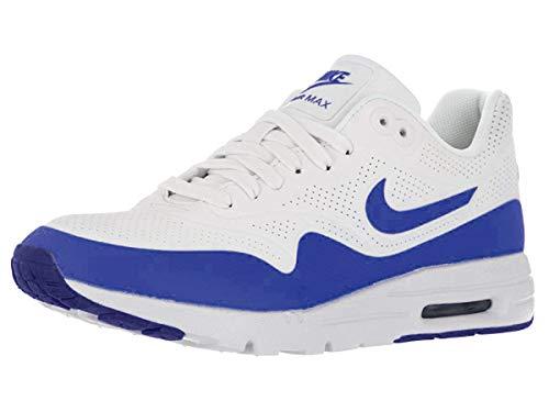 Nike Damen WMNS Air Max 1 Ultra Moire Fitnessschuhe, Weiß, Blau (Summit White/Racer Blue), 39 EU