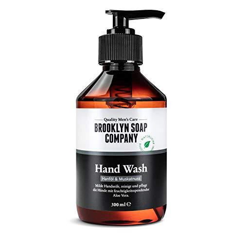 Hand Wash (300ml) · Brooklyn Soap Company · Pflegende Handseife mit natürlichen Inhaltsstoffen zur sanften Reinigung