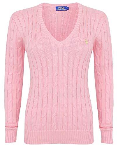 Ralph Lauren Kimberly - Polo de algodón con cuello en V