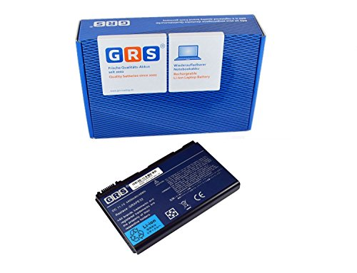 GRS Batterie pour Acer Extensa 5210 5220 5230 5235 5420 5610 5620 5630 5635 5720 7620 7520 7720 TravelMate 5520 5530 5710 5730 remplacé: TM00741 TM00751 GRAPE32 GRAPE34 CONIS71, 11.1V
