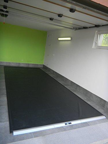 GARMAT HS Garagenbodenmatte schwarz matt (medium) 515 x 225 cm%% Aktion%%