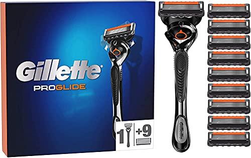 Gillette ProGlide Maquinilla de Afeitar Hombre con Tecnología FlexBall + 10 Cuchillas de...