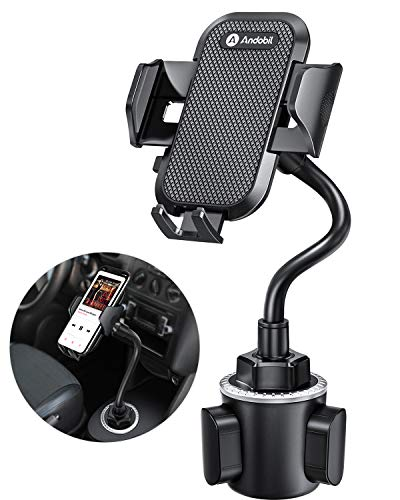 andobil Cup Holder Phone Mount, [Never Shake on...
