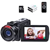 Best Camcorders Hdvs - 2K Camcorder ORDRO HDV-Z63 Ultra HD 1080p 30fps Review