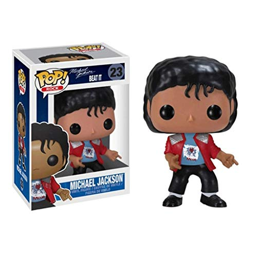 Funko Pop Rock : Michael Jackson (Beat It) 3.9inch Vinyl Gift for Boys Music Fans SuperCollection