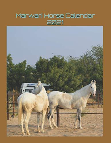 Marwari Horse Calendar 2021