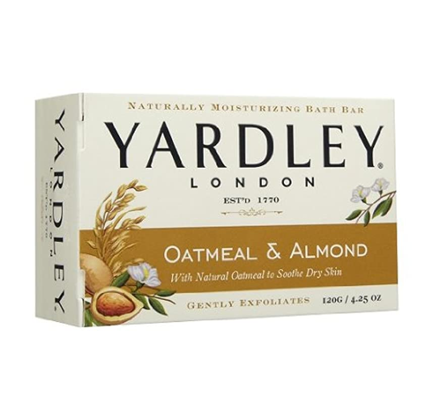 ステレオタイプ震えるモネ【2個:ハワイ直送品】Yardley London Oatmean & Almond Moisturizing Bath Bar ヤードリー オートミール&アーモンド ソープ  120g