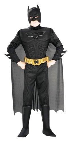 Rubie's-déguisement officiel - Batman Dark Knight- Costumes Panoplie Luxe Batman Dark Knight - Taille M-