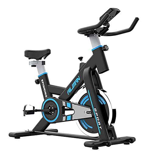 Spinning Bike Bicicleta Estática para El Hogar, Bicicleta De Ciclismo Interior con Transmisión por Correa, Bicicleta Estacionaria Ajustable Home Gym Spin Bike