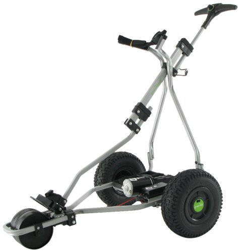 GreenHill GT, Lithium, elektrischer Golf-Trolley Silber Silber 18 Hole Battery