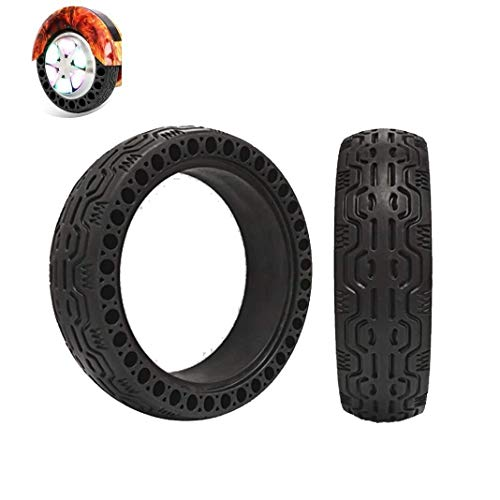 Buy Bargain GSG Tire for Scooter Wheel 2pcs Explosion-Proof Solid Tires Electric Scooter Tires, 6.5x...