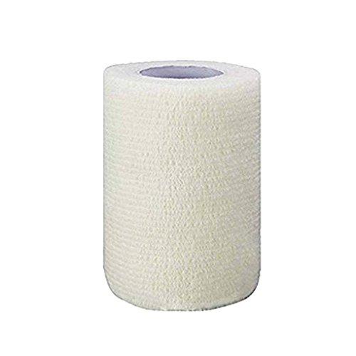 Bobury 10cmx4.5m autoadhésif d'urgence Emballage Bandage Sports de Plein air Garde Poignet Ruban élastique Tissu Bandage Nonwoven
