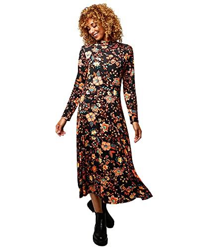Joe Browns Fabulous Folky Dress Vestito Casual, Multi, 50 Donna