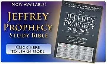 Jeffrey Prophecy Study Bible Black Leather KJV