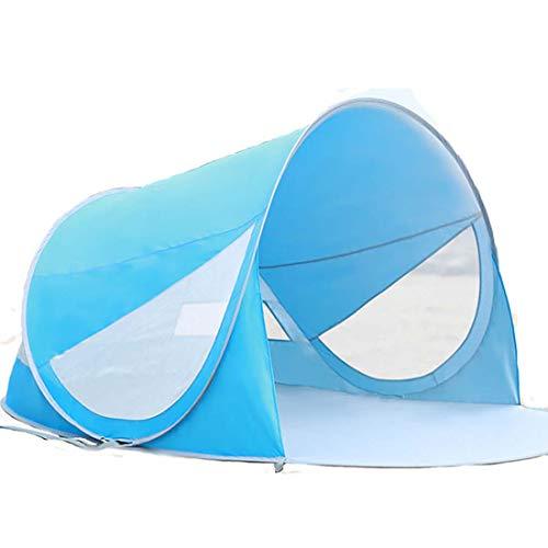 Fusmaker Outdoor Tent Strand Inklapbare Tent Pop Up Tent Camping Instant Sun Shelter Tent Luifel 220 * 140 * 100(cm)