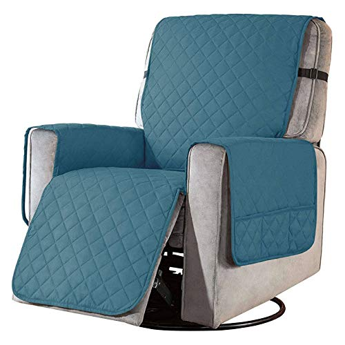 Reversible Recliner Chair Cover Recliner Slipcover, Soft Recliner Cover...